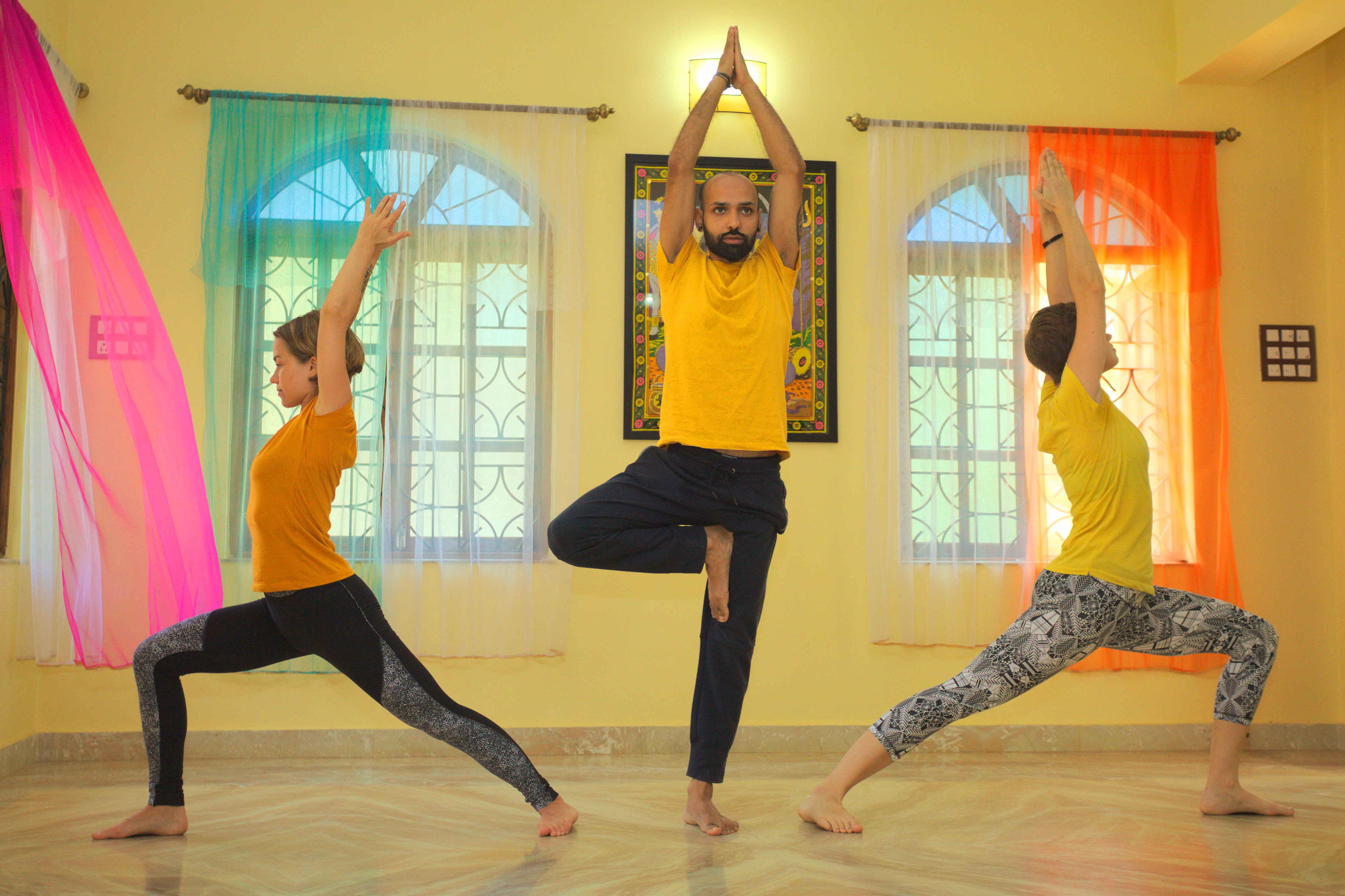 Yog Temple Be a warrior 1 - Teachers